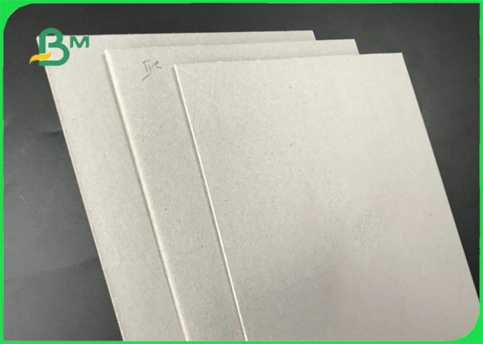 1mm 1.5mm 2mm Thick Gray Board Paper , Thick Cardboard Sheets For Notebook