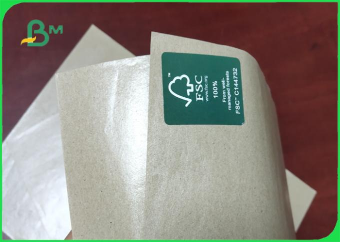 60g 80g Single PE Paper / Butcher Paper As Packing Material Tear Resistance