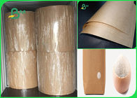 80gsm good breakage resistance high strength brown kraft paper for bags